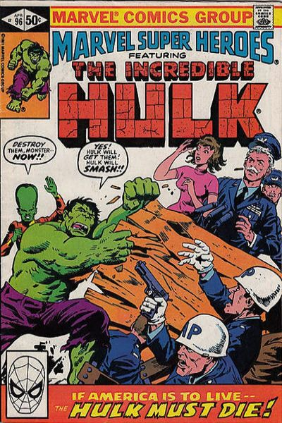 Marvel Super-Heroes #96 Comic Books - Covers, Scans, Photos  in Marvel Super-Heroes Comic Books - Covers, Scans, Gallery