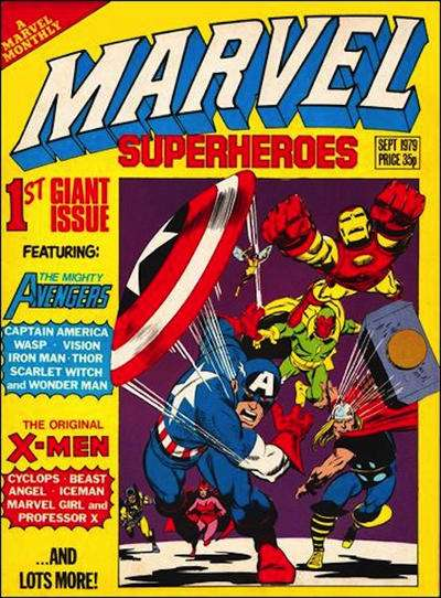 Marvel Super-Heroes Comic Books. Marvel Super-Heroes Comics.