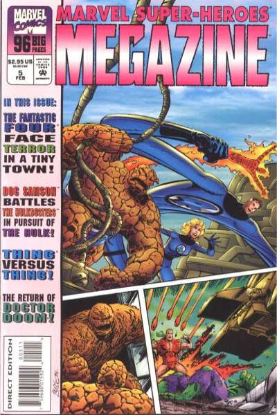 Marvel Super-Heroes Megazine #5 comic books for sale