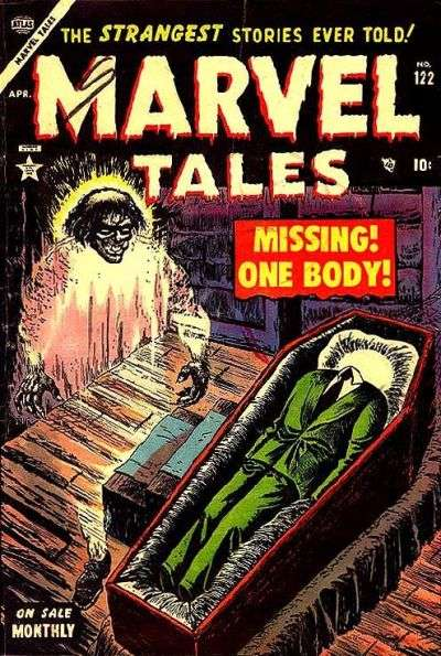 Marvel Tales #122 comic books - cover scans photos Marvel Tales #122 comic books - covers, picture gallery