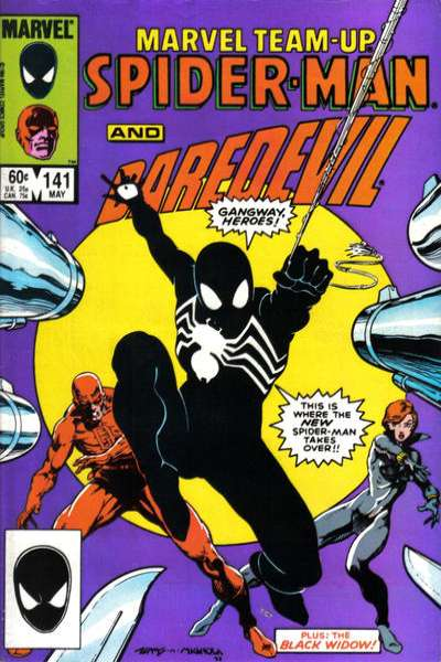 Marvel Team-Up #141 comic books - cover scans photos Marvel Team-Up #141 comic books - covers, picture gallery