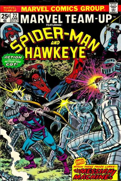 Marvel Team-Up #22 Comic Books - Covers, Scans, Photos  in Marvel Team-Up Comic Books - Covers, Scans, Gallery