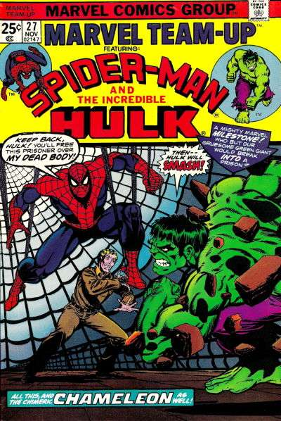 Marvel Team-Up #27 comic books - cover scans photos Marvel Team-Up #27 comic books - covers, picture gallery