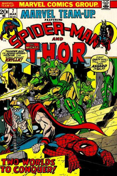 Marvel Team-Up #7 Comic Books - Covers, Scans, Photos  in Marvel Team-Up Comic Books - Covers, Scans, Gallery