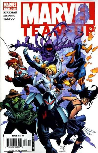 Marvel Team-Up #15 comic books - cover scans photos Marvel Team-Up #15 comic books - covers, picture gallery