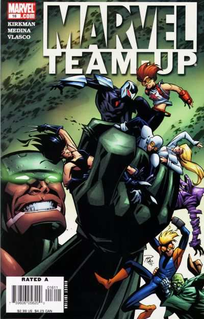 Marvel Team-Up #16 comic books - cover scans photos Marvel Team-Up #16 comic books - covers, picture gallery