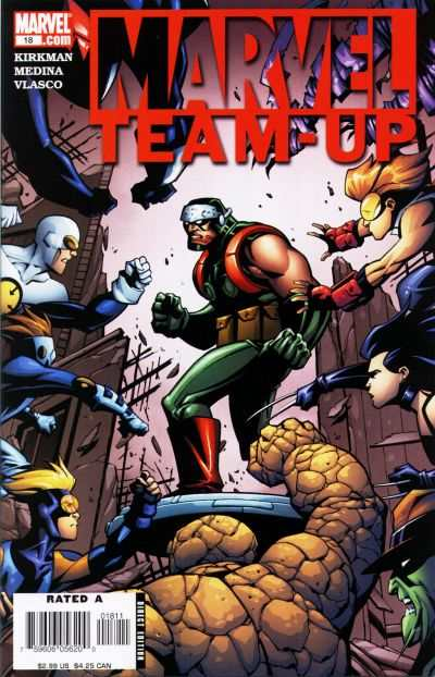 Marvel Team-Up #18 comic books for sale