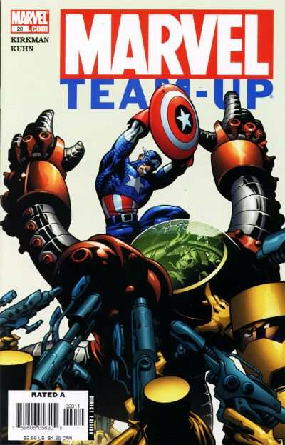 Marvel Team-Up #20 comic books - cover scans photos Marvel Team-Up #20 comic books - covers, picture gallery