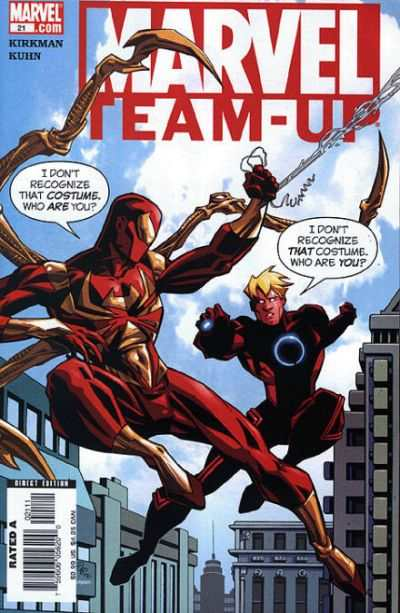 Marvel Team-Up #21 comic books - cover scans photos Marvel Team-Up #21 comic books - covers, picture gallery