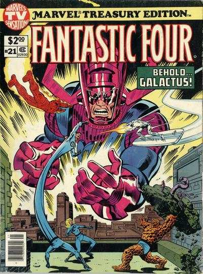 Marvel Treasury Edition #21 comic books for sale