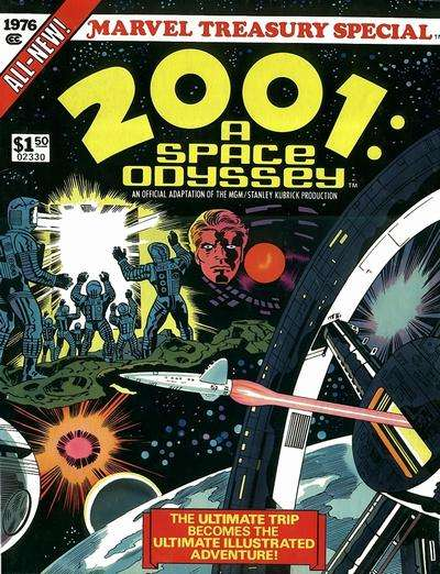 Marvel Treasury Special featuring 2001: A Space Odyssey Comic Books. Marvel Treasury Special featuring 2001: A Space Odyssey Comics.