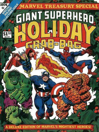 Marvel Treasury Special comic books
