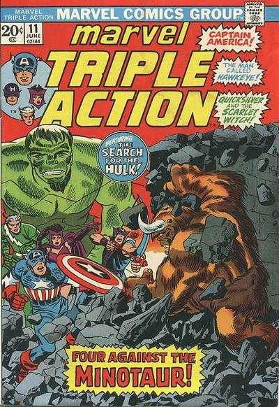 Marvel Triple Action #11 comic books for sale