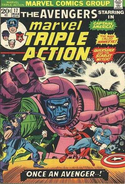 Marvel Triple Action #17 comic books for sale