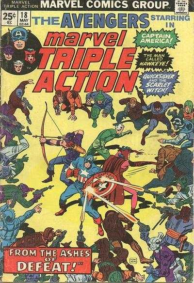 Marvel Triple Action #18 comic books for sale