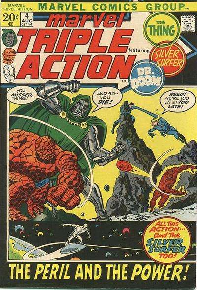 Marvel Triple Action #4 comic books for sale