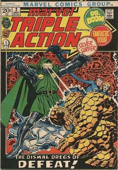 Marvel Triple Action #2 comic books for sale