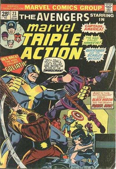 Marvel Triple Action #23 comic books for sale