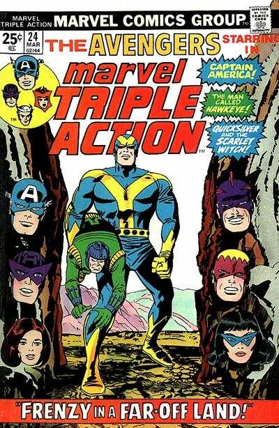 Marvel Triple Action #24 comic books for sale
