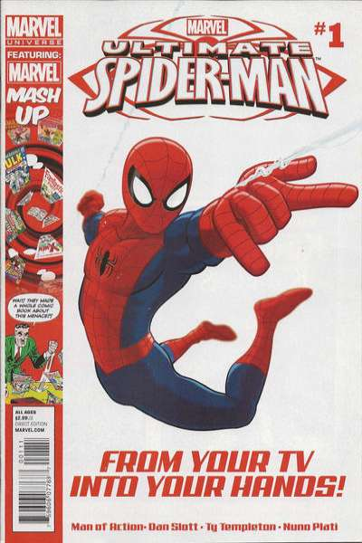Marvel Universe Ultimate Spider-Man #1 comic books for sale