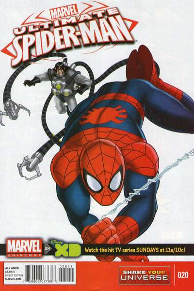 Marvel Universe Ultimate Spider-Man #20 comic books for sale