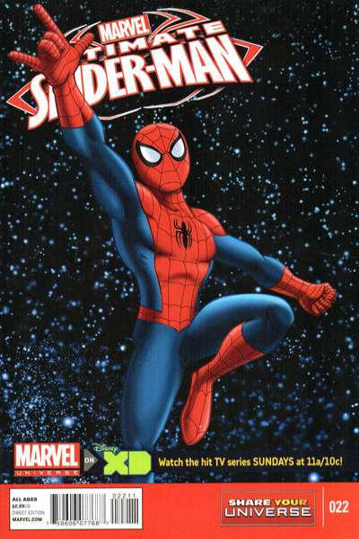 Marvel Universe Ultimate Spider-Man #22 comic books for sale