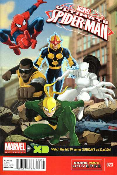 Marvel Universe Ultimate Spider-Man #23 comic books for sale
