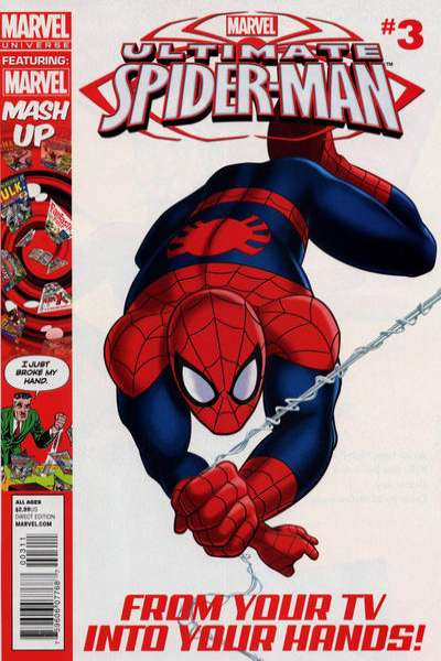 Marvel Universe Ultimate Spider-Man #3 comic books for sale