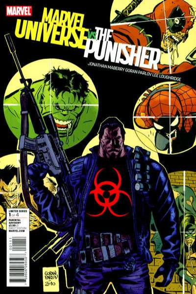 Marvel Universe vs. The Punisher comic books