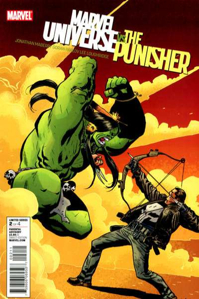 Marvel Universe vs. The Punisher #2 Comic Books - Covers, Scans, Photos  in Marvel Universe vs. The Punisher Comic Books - Covers, Scans, Gallery