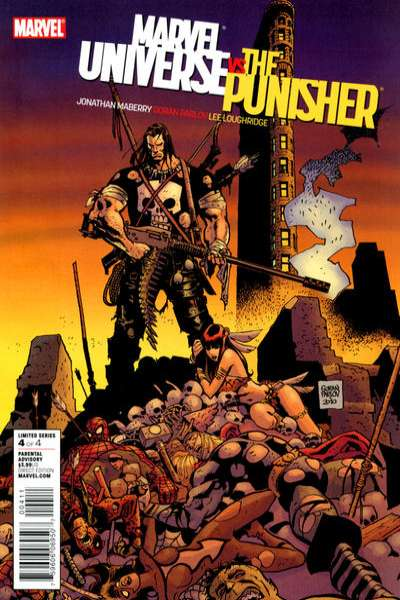 Marvel Universe vs. The Punisher #4 comic books - cover scans photos Marvel Universe vs. The Punisher #4 comic books - covers, picture gallery