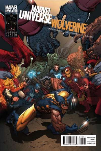 Marvel Universe vs. Wolverine comic books