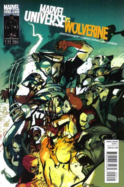 Marvel Universe vs. Wolverine #2 Comic Books - Covers, Scans, Photos  in Marvel Universe vs. Wolverine Comic Books - Covers, Scans, Gallery