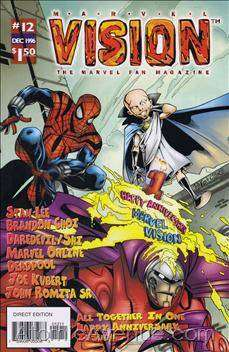 Marvel Vision #12 Comic Books - Covers, Scans, Photos  in Marvel Vision Comic Books - Covers, Scans, Gallery