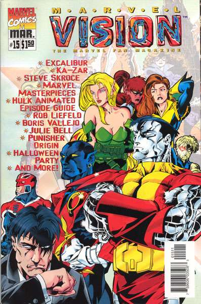 Marvel Vision #15 comic books - cover scans photos Marvel Vision #15 comic books - covers, picture gallery