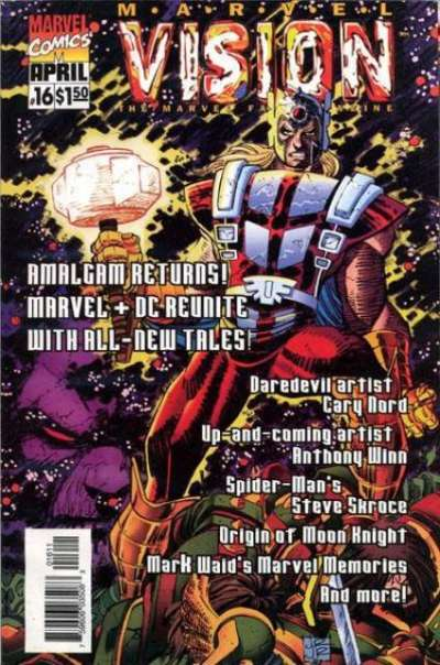 Marvel Vision #16 Comic Books - Covers, Scans, Photos  in Marvel Vision Comic Books - Covers, Scans, Gallery