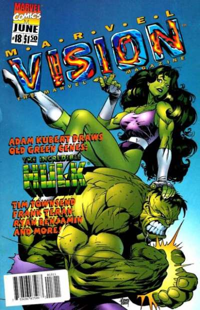Marvel Vision #18 Comic Books - Covers, Scans, Photos  in Marvel Vision Comic Books - Covers, Scans, Gallery