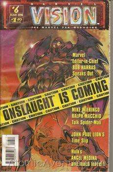 Marvel Vision #6 comic books - cover scans photos Marvel Vision #6 comic books - covers, picture gallery