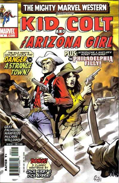 Marvel Westerns: Kid Colt and the Arizona Girl #1 comic books for sale