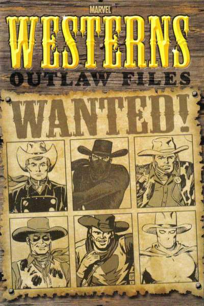 Marvel Westerns: Outlaw Files #1 comic books for sale