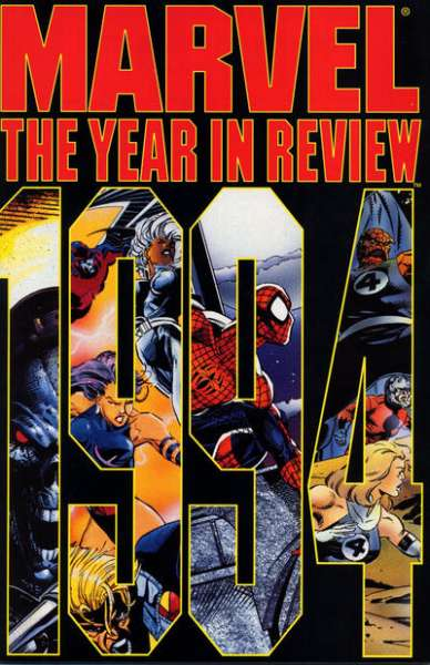 Marvel Year in Review '94 #1 comic books - cover scans photos Marvel Year in Review '94 #1 comic books - covers, picture gallery