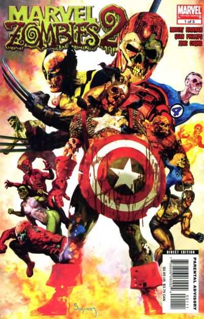 Marvel Zombies 2 #1 comic books - cover scans photos Marvel Zombies 2 #1 comic books - covers, picture gallery