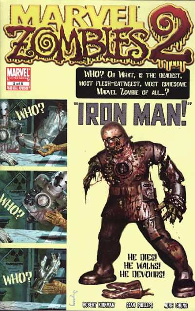 Marvel Zombies 2 #3 comic books - cover scans photos Marvel Zombies 2 #3 comic books - covers, picture gallery