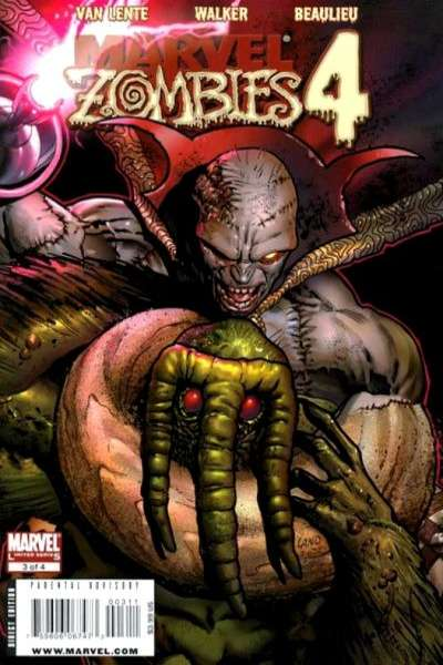 Marvel Zombies 4 #3 Comic Books - Covers, Scans, Photos  in Marvel Zombies 4 Comic Books - Covers, Scans, Gallery
