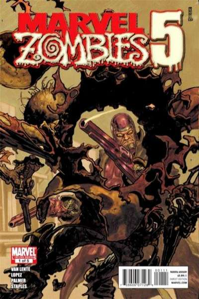 Marvel Zombies 5 #1 comic books - cover scans photos Marvel Zombies 5 #1 comic books - covers, picture gallery