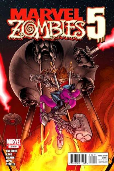 Marvel Zombies 5 #2 comic books - cover scans photos Marvel Zombies 5 #2 comic books - covers, picture gallery