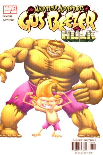 Marvelous Adventures of Gus Beezer: Hulk #1 comic books - cover scans photos Marvelous Adventures of Gus Beezer: Hulk #1 comic books - covers, picture gallery