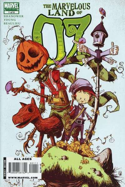 Marvelous Land of Oz comic books