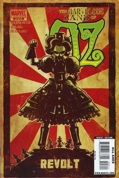 Marvelous Land of Oz #3 comic books - cover scans photos Marvelous Land of Oz #3 comic books - covers, picture gallery