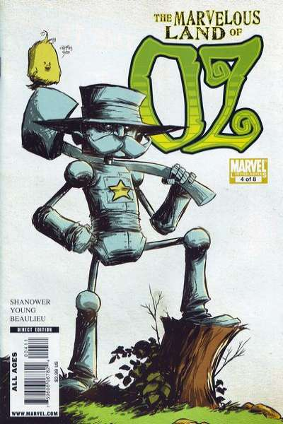 Marvelous Land of Oz #4 Comic Books - Covers, Scans, Photos  in Marvelous Land of Oz Comic Books - Covers, Scans, Gallery